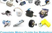 Komplette Motor-Handbuch für Robotik