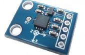 Interfacing Beschleunigungssensor ADXL 335 mit Mediatek LinkIt ein Brett