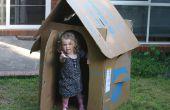 Kostenlose Kinder Karton Box Playhouse (Flat-stopfbare)