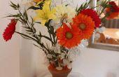 Sperrholz-Vase