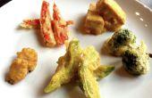 Tempura-Gemüse und Tofu