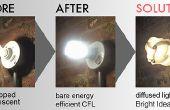 Verschönern Sie Ihre CFLs mit Bright Idee Schattierungen (stehlen diese Idee!)