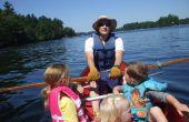 Wie man eine Kanu für Angeln oder Übung, die billige, schnelle Ruderboot Rudern
