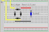 Ein Brückengleichrichter aus Dioden machen
