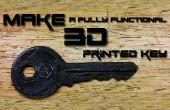 Wie erstelle ich ein 3D gedruckt Schlüssel (vollständige Anleitung)