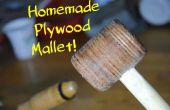 Machen Sie Ihre eigenen Sperrholz Mallet! | DIY Holzbearbeitung Werkzeuge #1