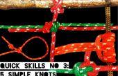 Schnelle Fähigkeiten #3: 5 einfache Knoten Überlebenskampf Teil 3