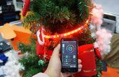 Smart Phone gesteuert Weihnachtsbaum mit RGB-LED-Streifen
