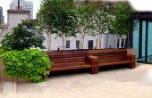 NYC Dach Deck Design: Park Avenue Kalkstein Patio