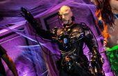 Locutus von Borg Kostüm (Cyborg) mit echten Robotik, Licht und Klang und 36.000 mAh Power!!
