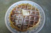 Gluten freie Waffeln/Pfannkuchen