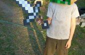 Einfach Minecraft Creeper-Kostüm