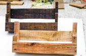 DIY-rustikale Palettenholz Regale