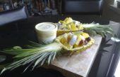 Ananas-Schalen