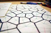 Handgezeichnete Voronoi Diagramme