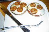 Englische Muffins Minipizzas!