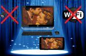 PC oder Mac ohne USB/WiFi Android Bildschirm freigeben
