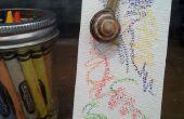 Schnecke-Kunst: Die Kunst mit Schnecken