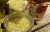 Wie erstelle ich perfekte klebrigen Reis mit einem Reiskocher