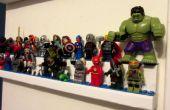 Lego Display Regale doppelt geschichteten