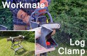 Log-Klemm backen für Schwarz & Decker Workmate - Schnitt mit CNC-Plasma