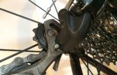 Fahrrad-Kette, die Reinigung und Wartung