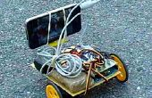 Skype-gesteuerte Roboter mit Smartphone und DTMF-Töne