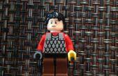 Wie man eine Lego-Person montiert