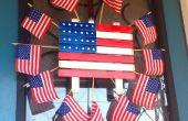 Feiern am 4. Juli mit leicht Türdekoration
