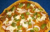 Vollkorn Veggie Cottage Cheese Pizza
