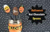 Heiße Schokolade Löffel Halloween