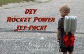 Kinder Super Sci-Fi-Rakete angetrieben Jet-Pack gemacht für ein paar Cent!