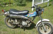 Gewusst wie: Kick-Start ein Motorrad.