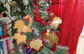 Baum Blätter Xmas Ornamente