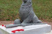 "Stone Carving: ""Vergessen Heroes"" Reparatur für Remembrance Day"