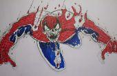Gewusst wie: zeichnen Sie Zombie Spiderman