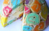 Wie man einen Regenbogen Bombe Kuchen