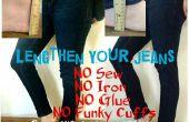 Einfache Jeans (& Hose) Verlängerung