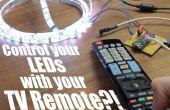 Steuern Sie Ihre LEDs mit Ihrer TV-Fernbedienung?! || Arduino IR Tutorial