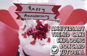 Geburtstag Kuchen in Explosion Box