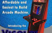 Eine Super einfache Arcade-Maschine aus 1 Stück Sperrholz