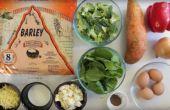 Berg Bread™ - gebratene Vegetarische Quiche
