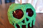 Kandierte Äpfel vergiftet