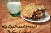 Big Apple und Erdnussbutter-Plätzchen