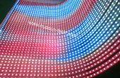 Transparente LED-Streifen-Display mit ultra schlanke Körper verkaufen und scharfe Helligkeit Kontakt: kallen@huasun-tech.com
