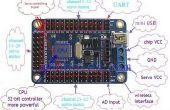 Arduino Mini USB-24 Kanal Servo Controller-Board