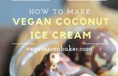 Vegane Kokos-Eis | Banane-freies Rezept