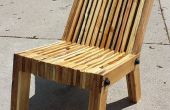 Liegeposition Palette Holz Stuhl
