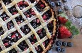 Dreifach-Berry Tart