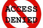 Wie man gesperrte Internetseiten entsperren?